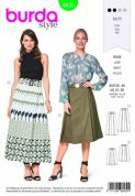 6430  Burda Pattern: Ladies Skirt